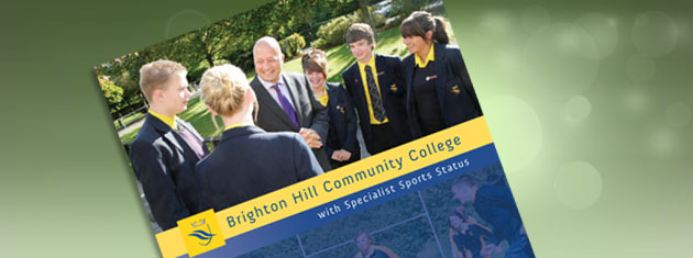 New prospectus for Brighton Hill Community College, Basingstoke