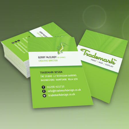 Business cards from trademark design basingstoke hampshire double sided business card reheart Gallery